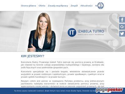 Radca prawny I. Tutro - Kraków