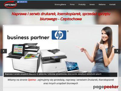 Serwis drukarek - Optima-md.com