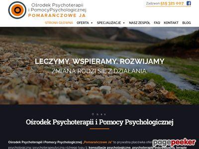 Pomarańczowe Ja - Ośrodek Psychoterapii